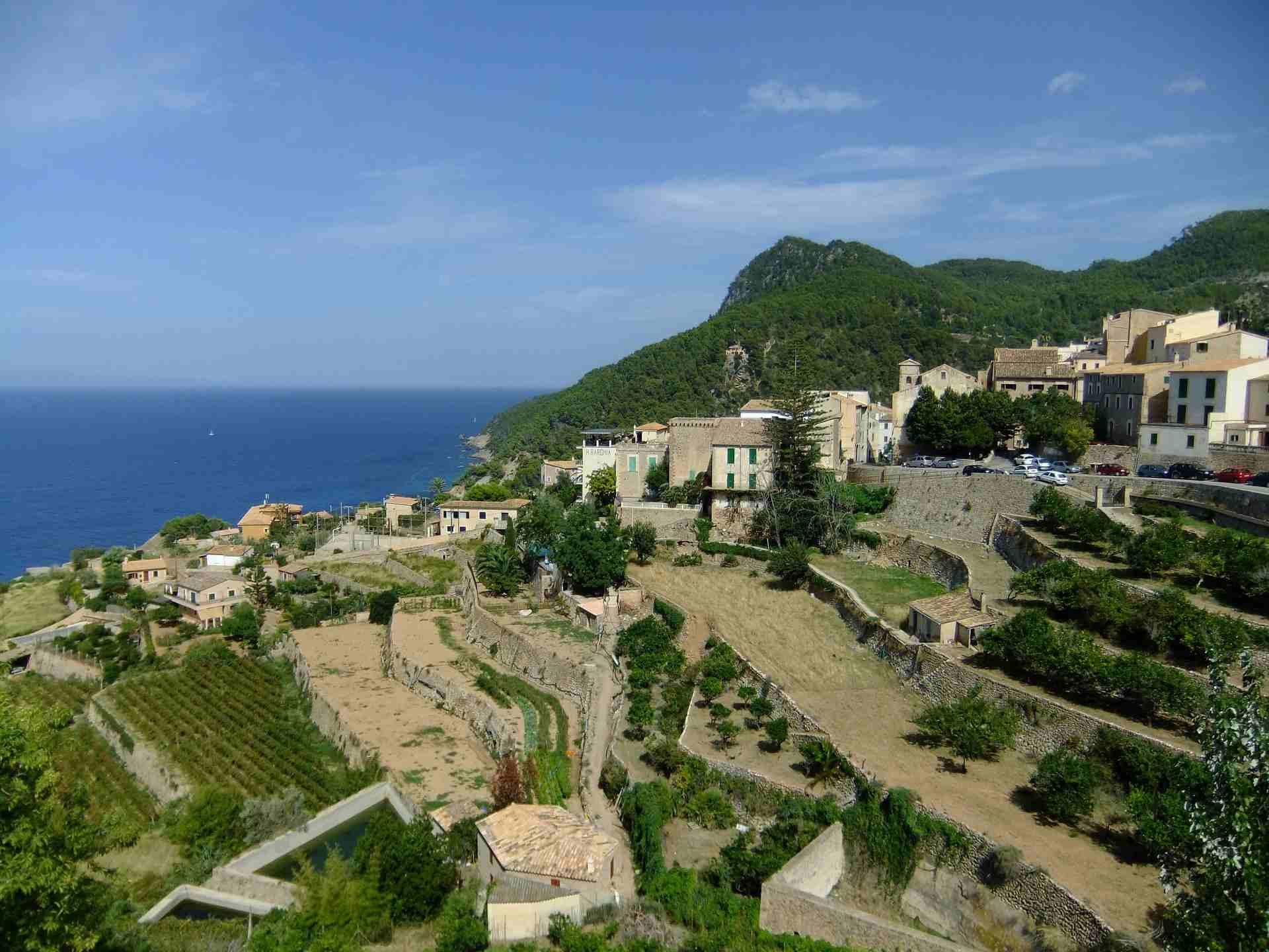 Banyalbufar an der Westküste Mallorcas