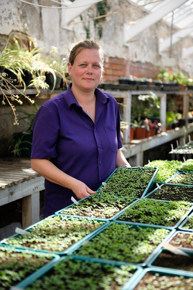 Anja Gohlke - Chefgärtnerin Kylemore Abbey
