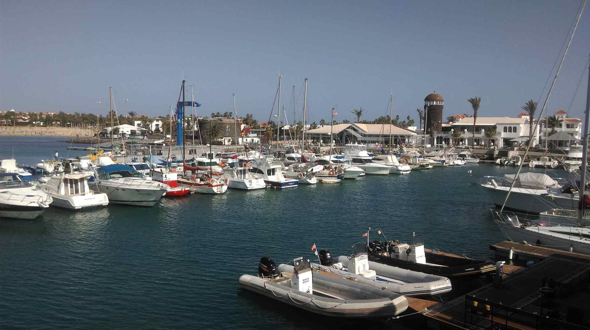 Caleta de Fuste Hafen