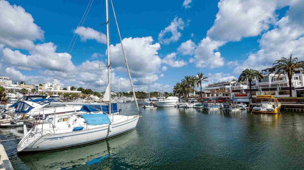 Hafen von Cala d'Or