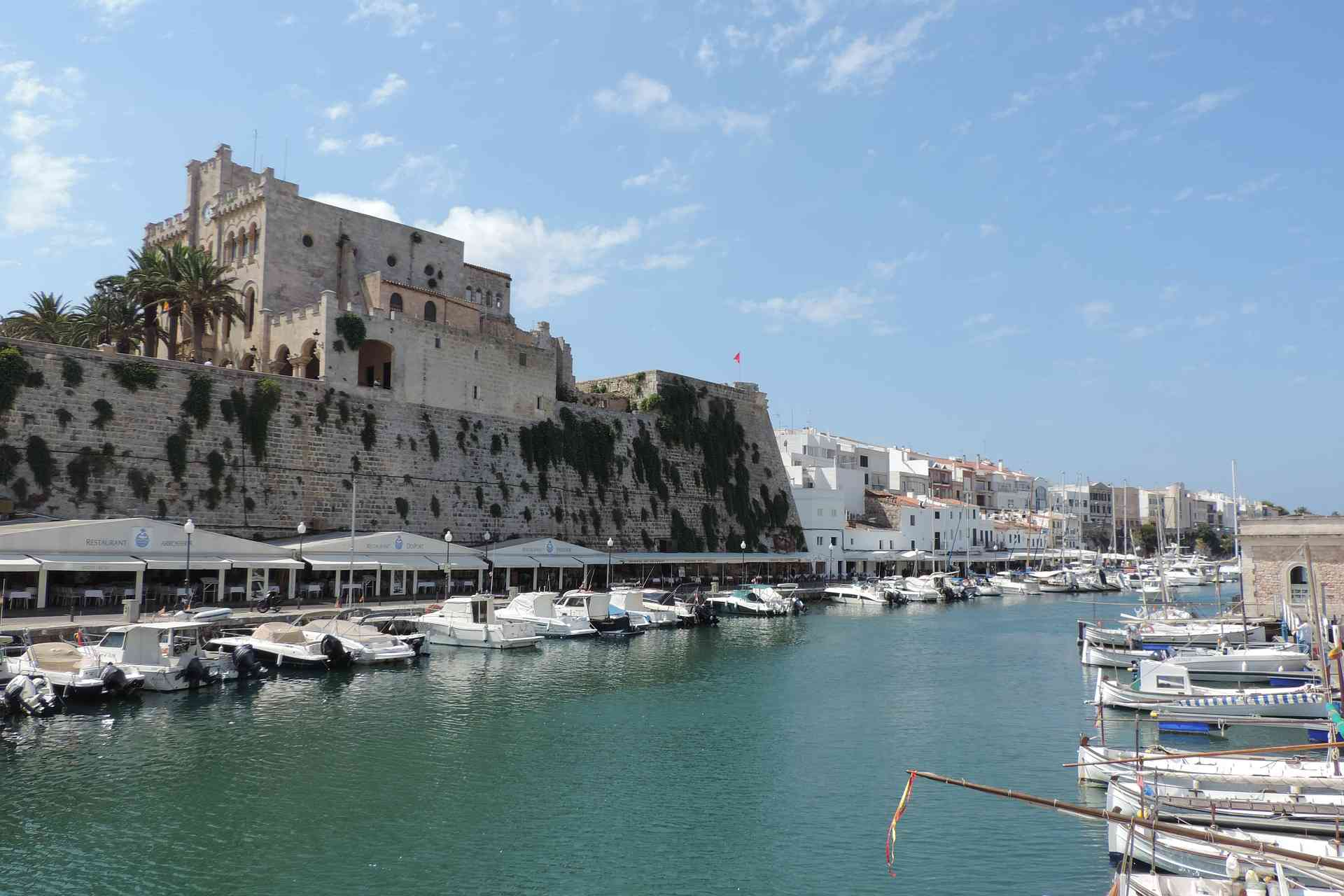Hafeneinfahrt von Ciutadella