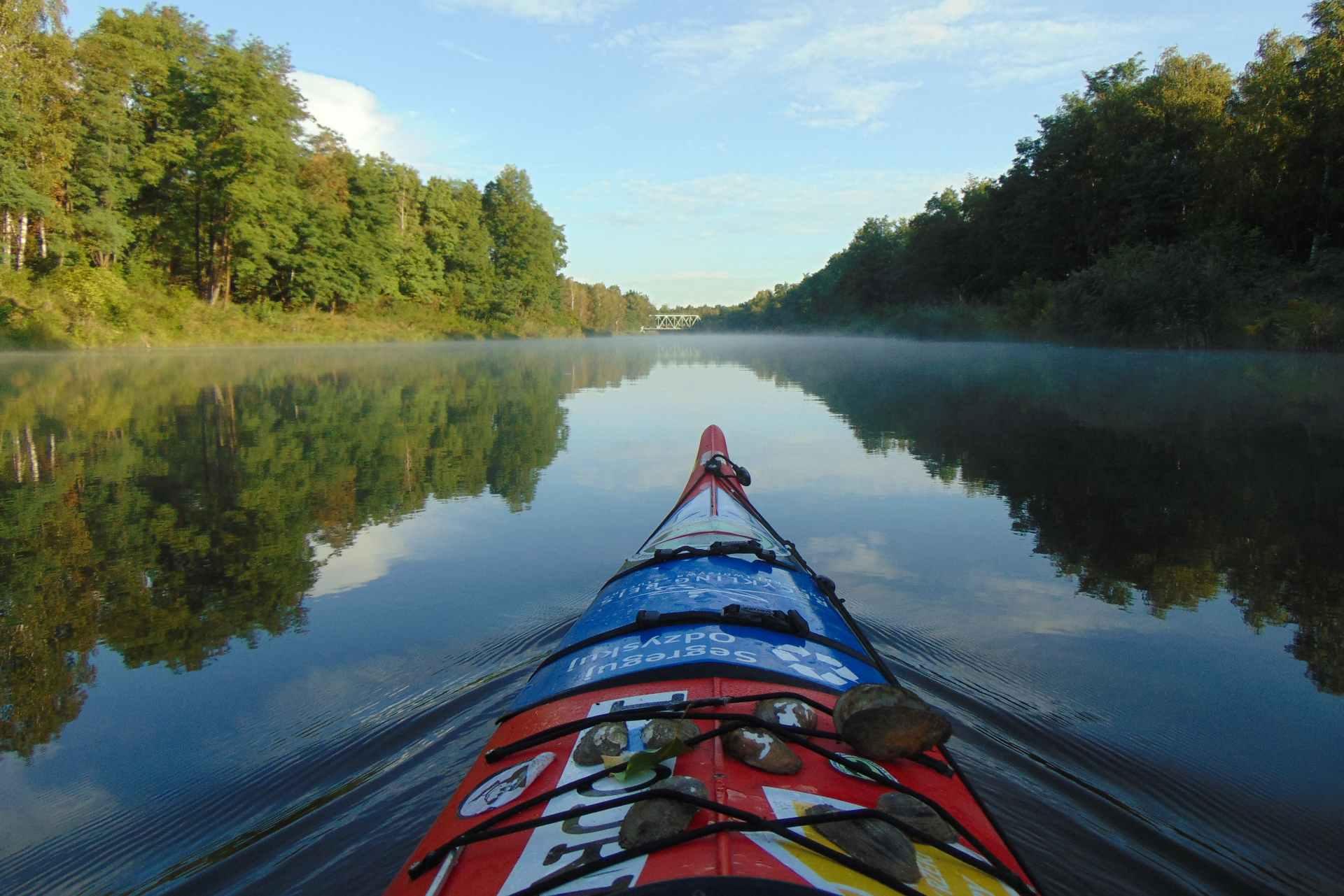 Kajak-Odertour von Umweltschützer Dominik Dobrowolski