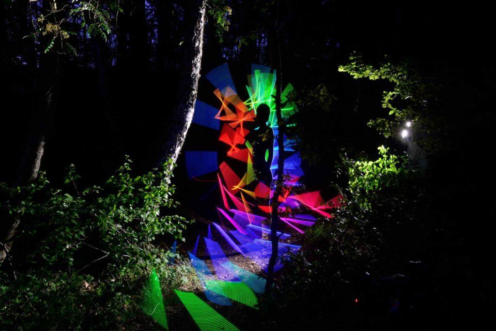 Kunstwerk Beyond The Forest Fotokunstpfad Zingst