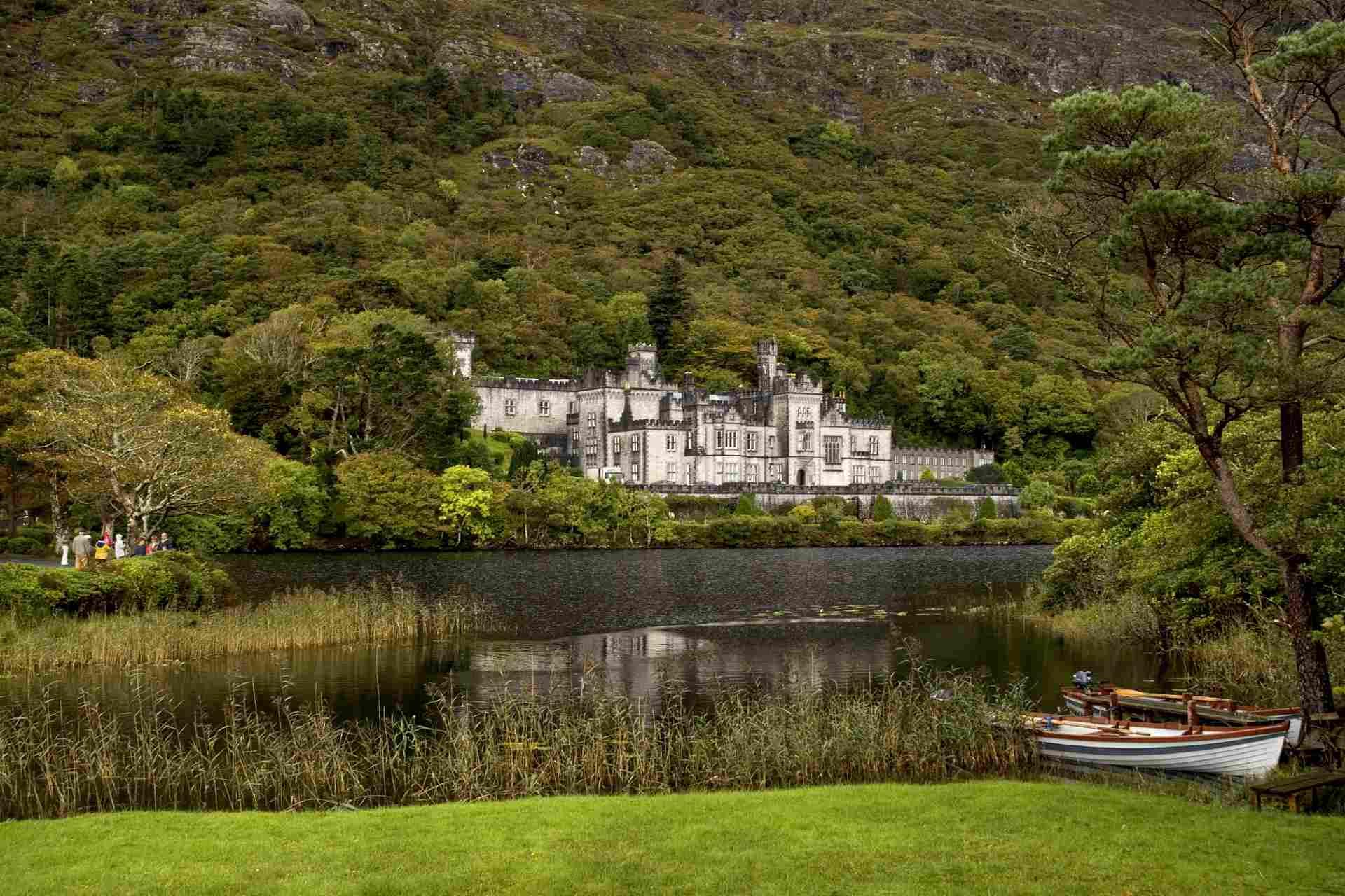 Kylemore Abbey Benediktinerinnenabtei Connemara Irland