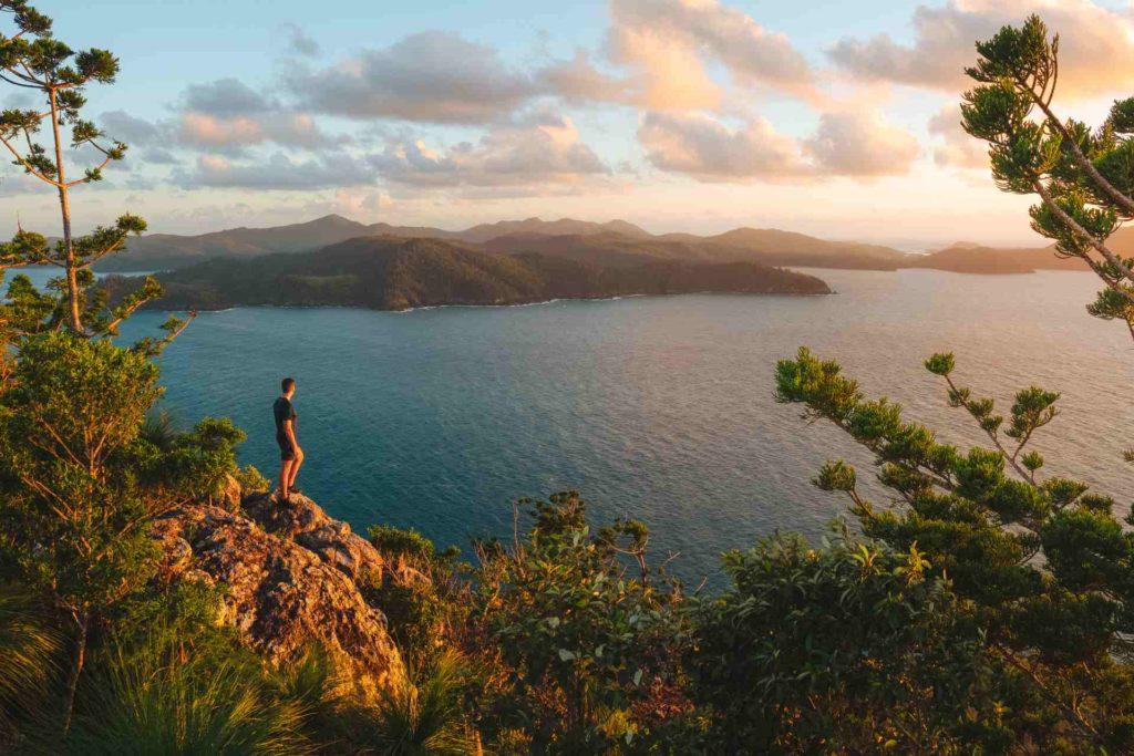 Passage Peak auf Hamilton Island Whitsundays