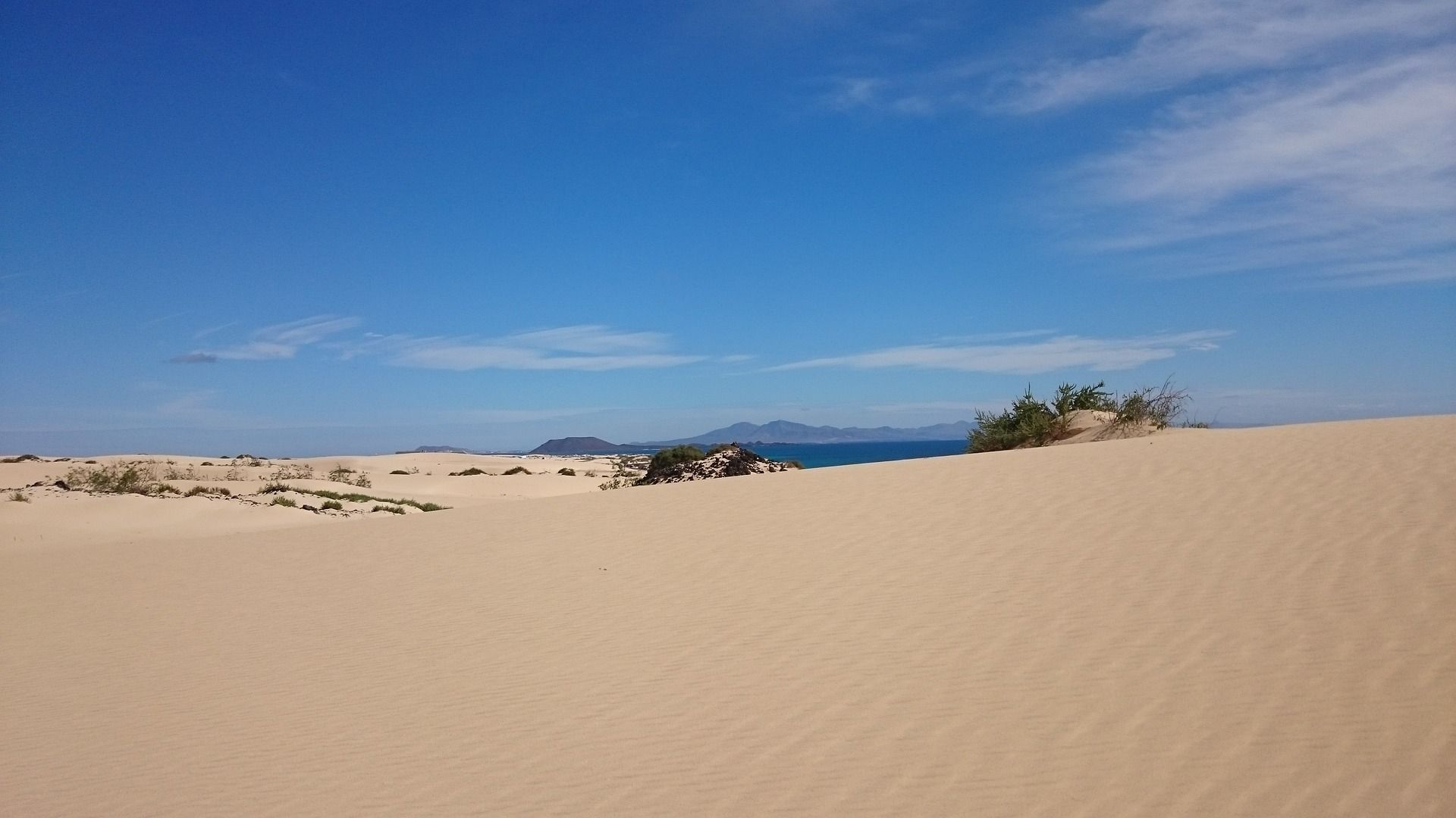 Playa Corralejo Sand und Dünen