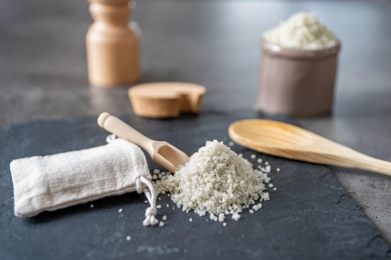 Salz aus den Salzgärten von Guérande