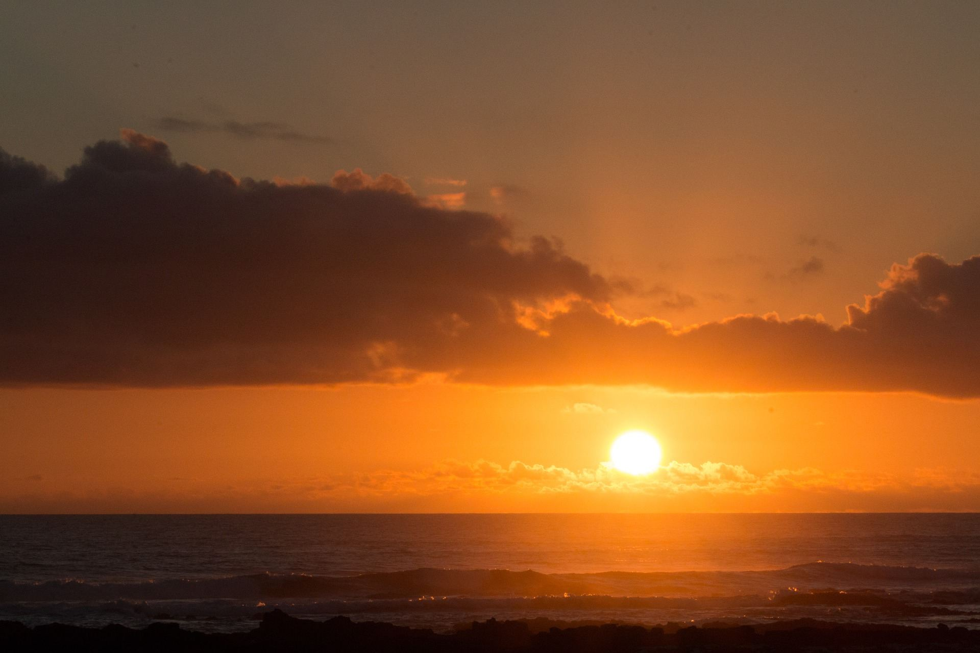 Sonnenuntergang vor El Cotillo