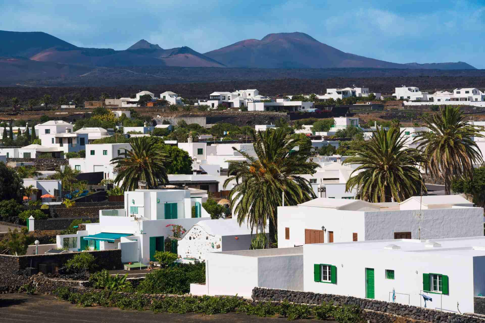 Yaiza schönstes Dorf auf Lanzarote