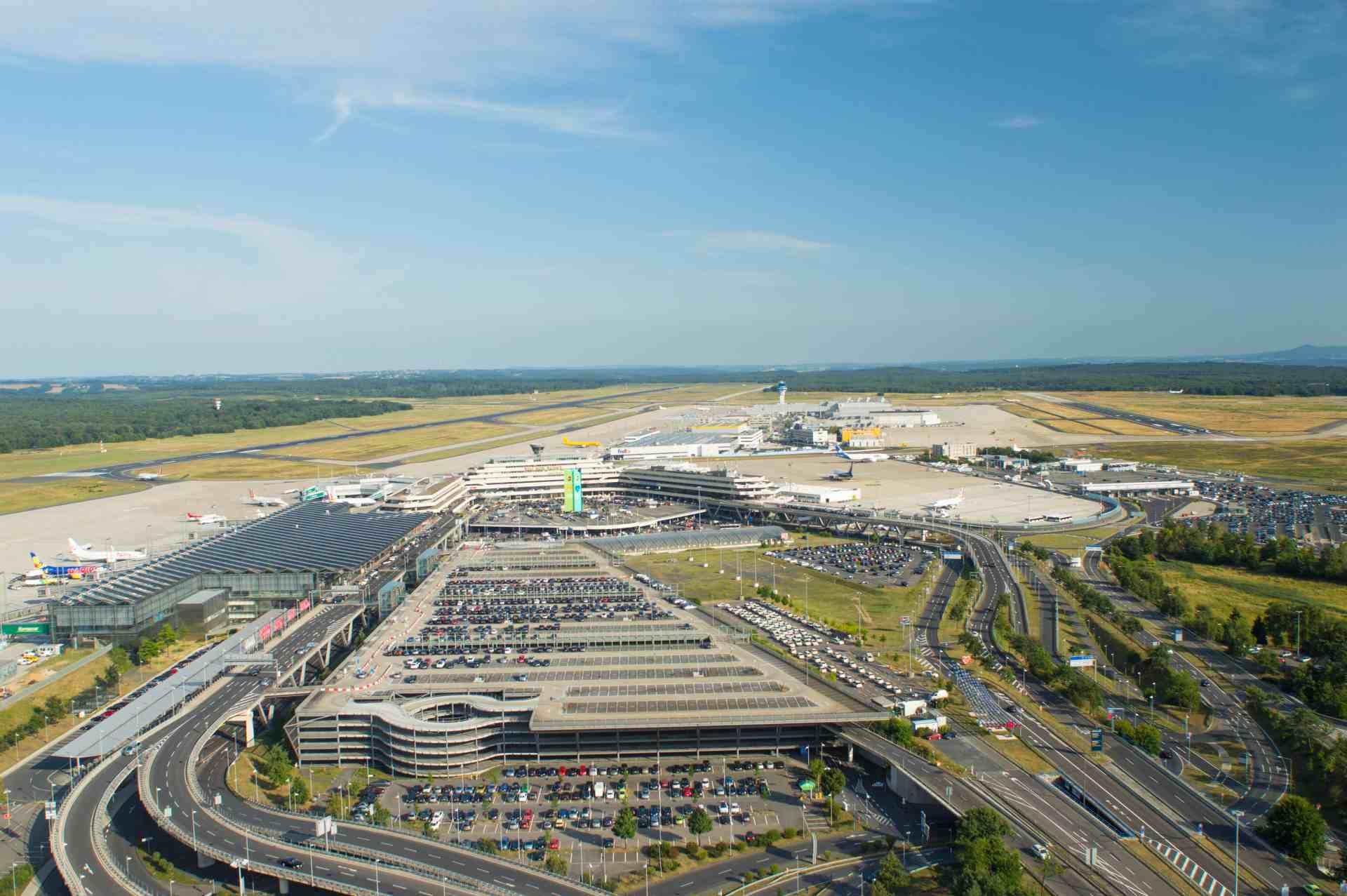 Luftaufnahme Flughafen Köln-Bonn