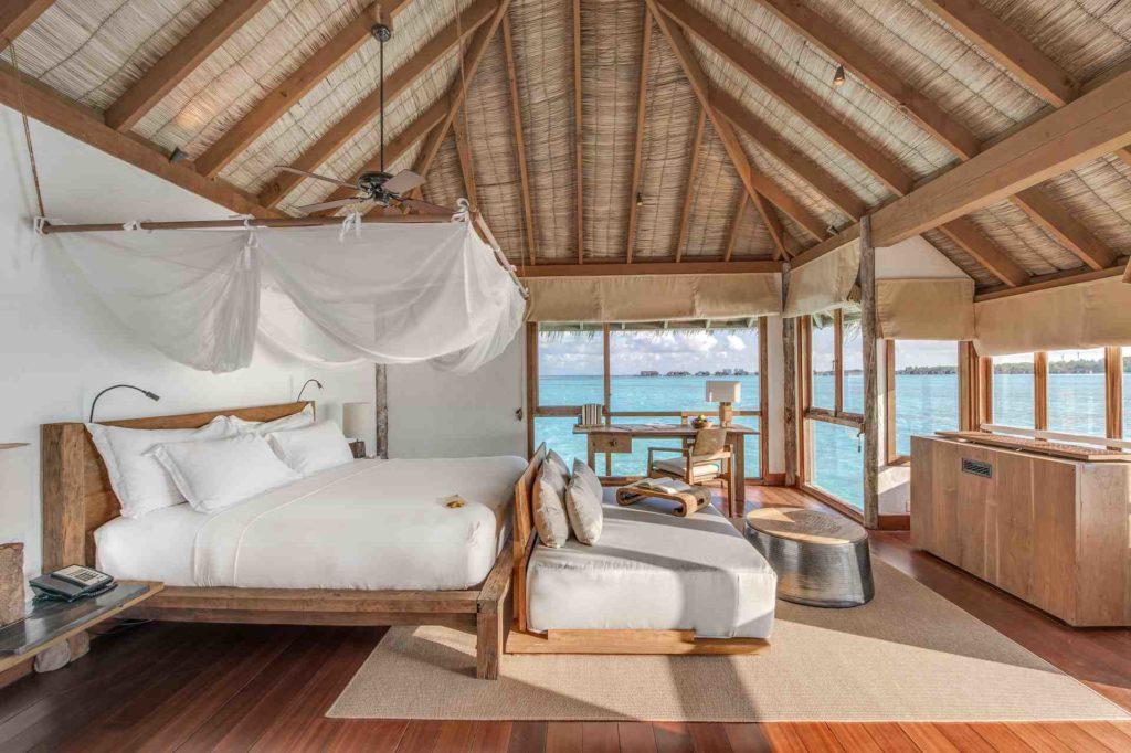 Luxuriöse Unterkunft im Gili Lankanfushi