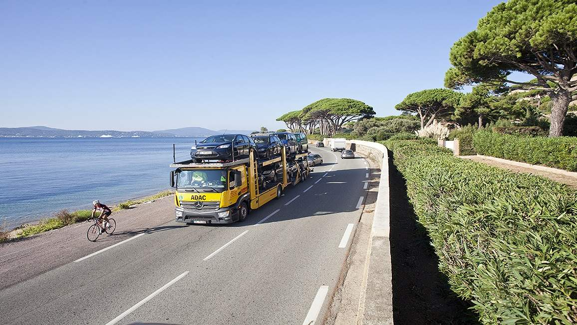 ADAC Fahrzeugrücktransport aus Frankreich