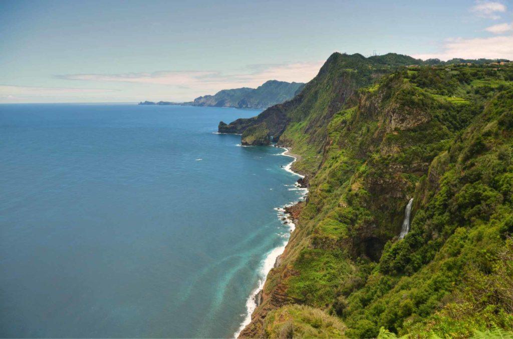 Bergwelt an der Nordküste Madeiras