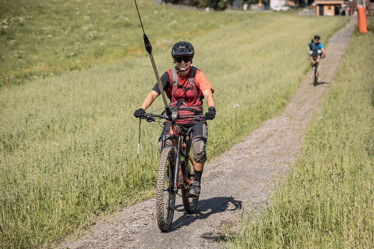 Bike-Schlepplift in Oberndorf