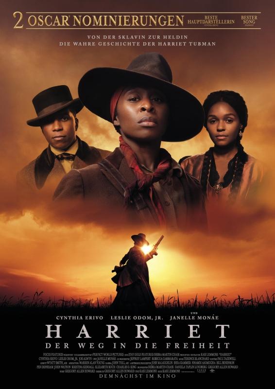 Filmplakat Harriet - Der Weg in die Freiheit