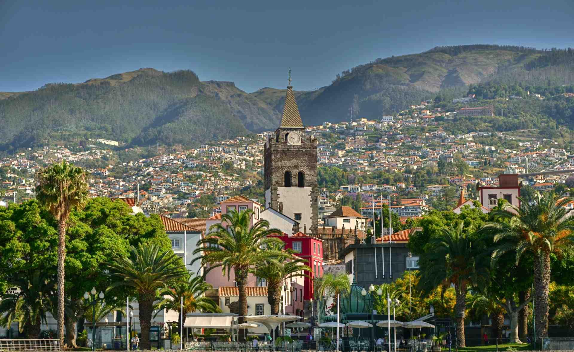 Kirche in Funchal auf Madeira