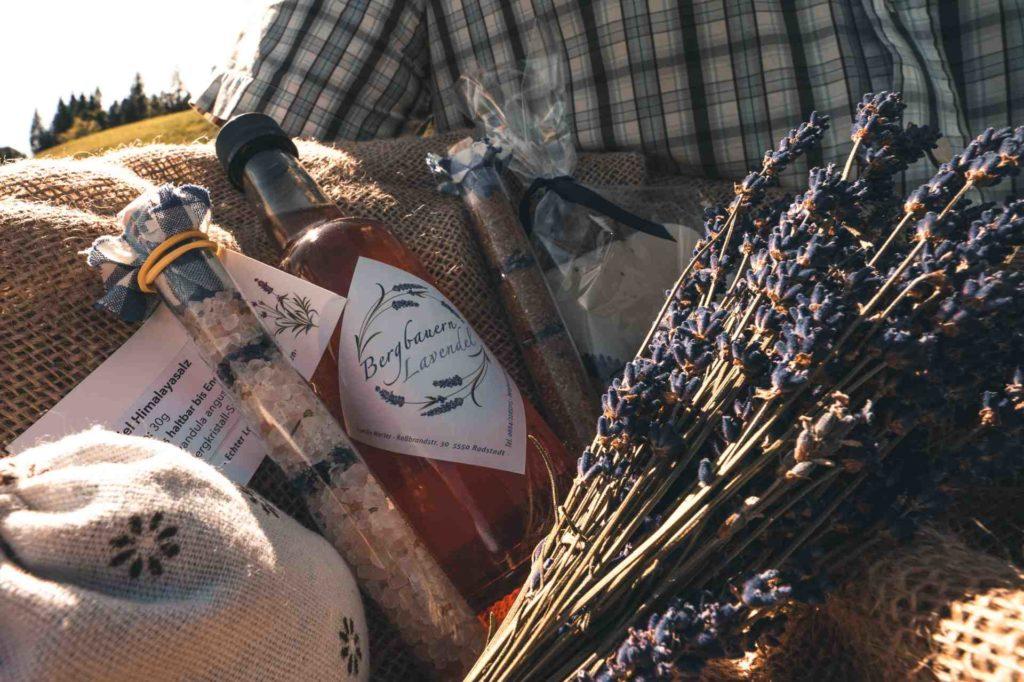 Lavendelprodukte aus Altenmarkt im Salzburger Land