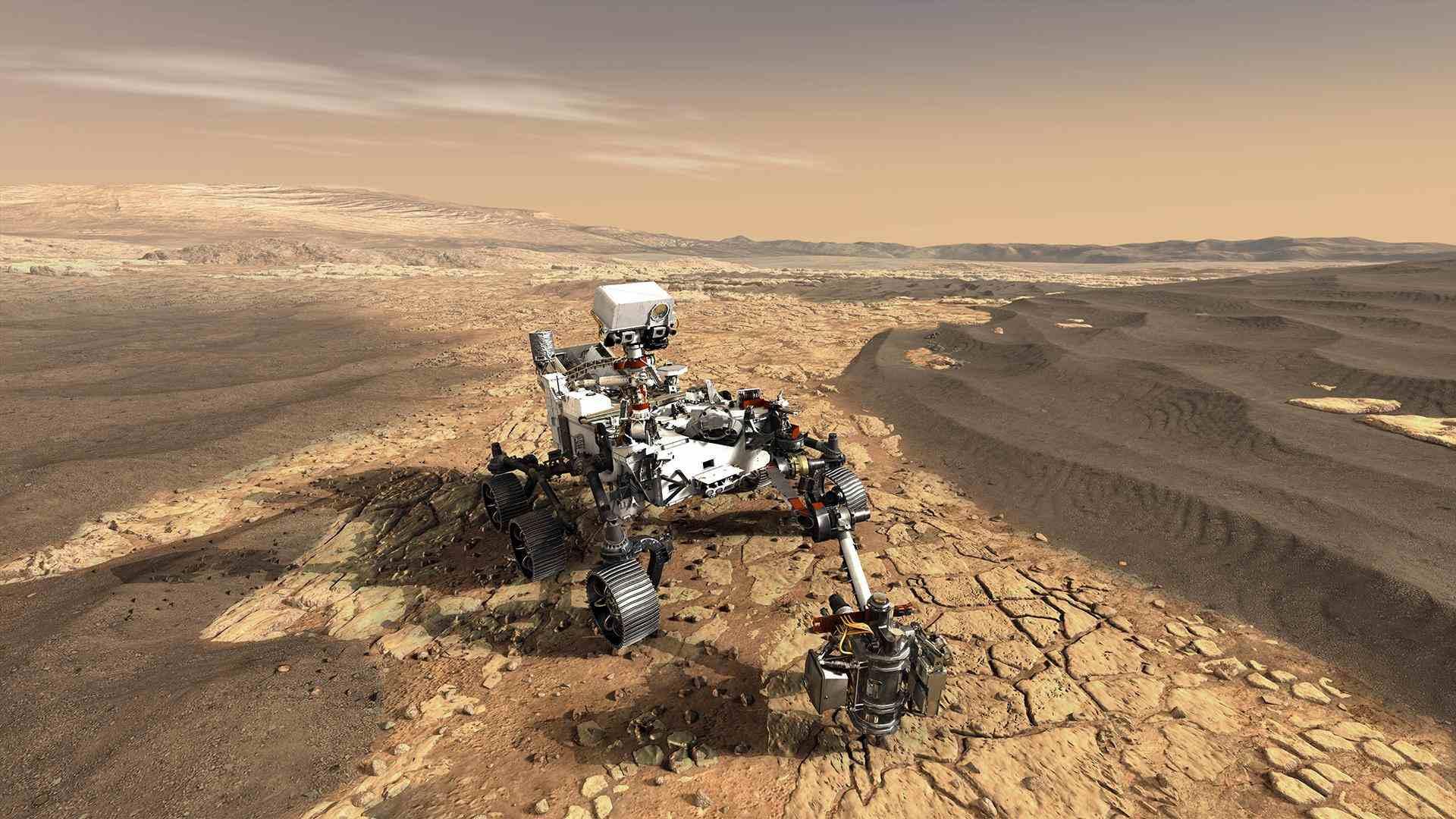 Mars Rover Perseverance der NASA