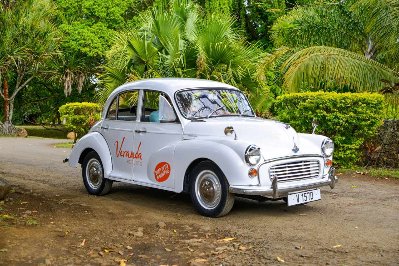 Morris Minor Oldtimer von Veranda Resorts