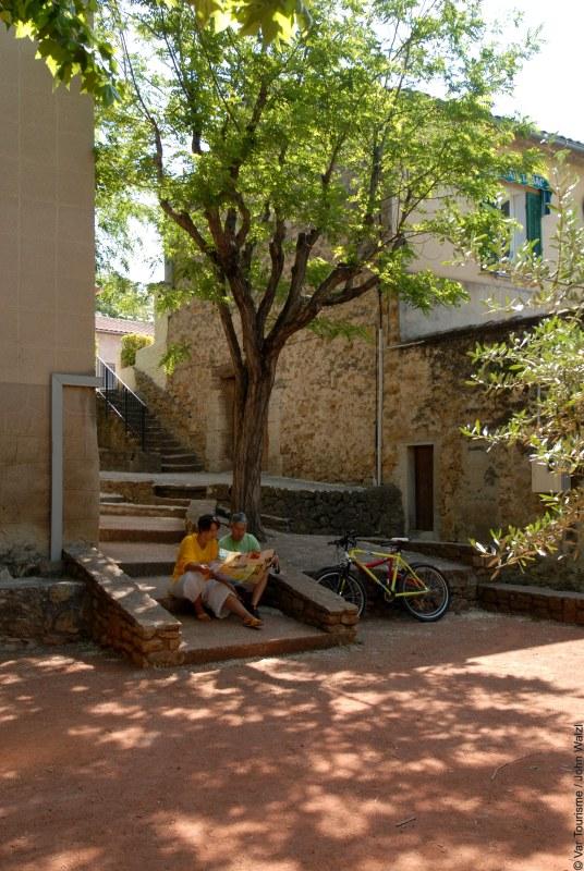 Radwanderung bei Le Castellet