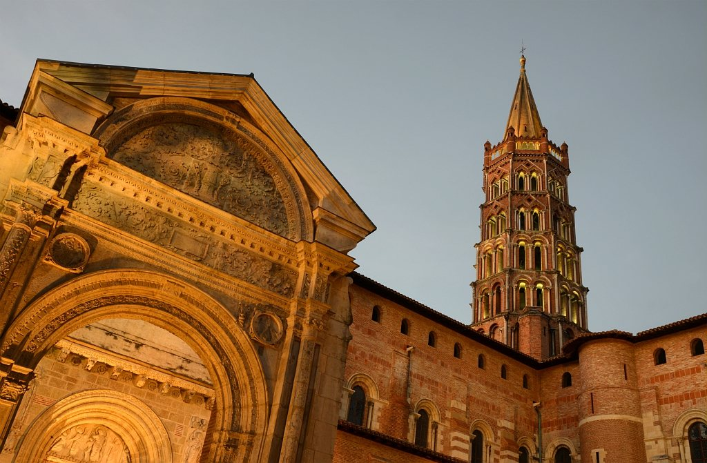 Basilika Saint Sernin in Toulouse