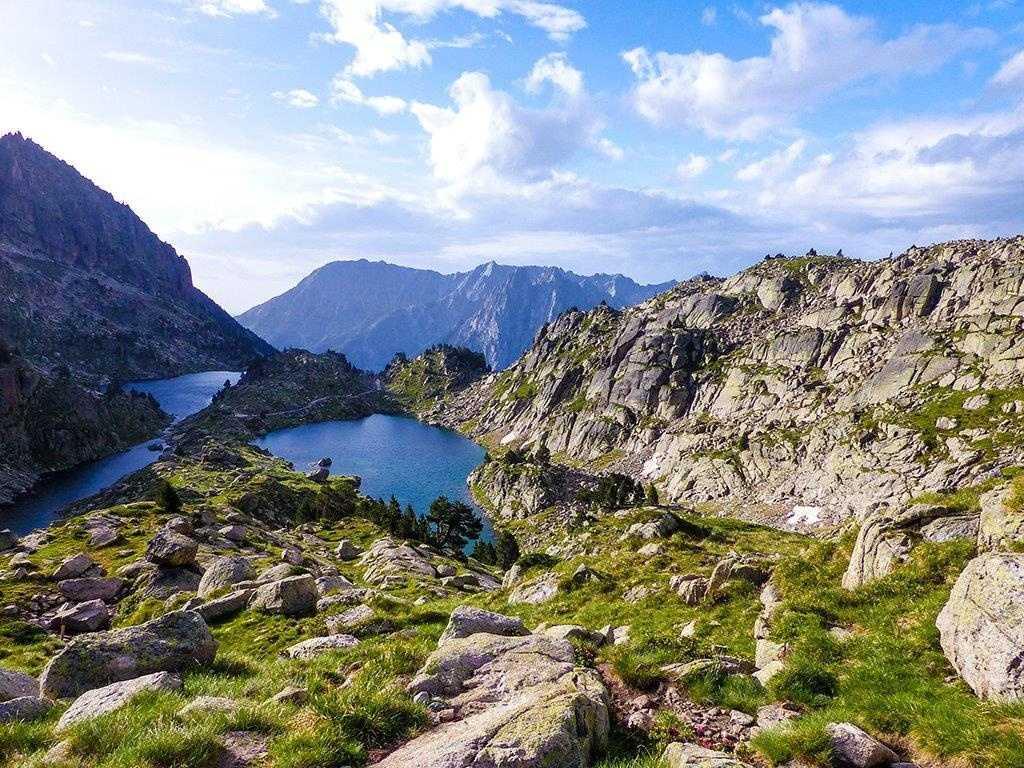 Bergseen in den katalanischen Pyrenäen