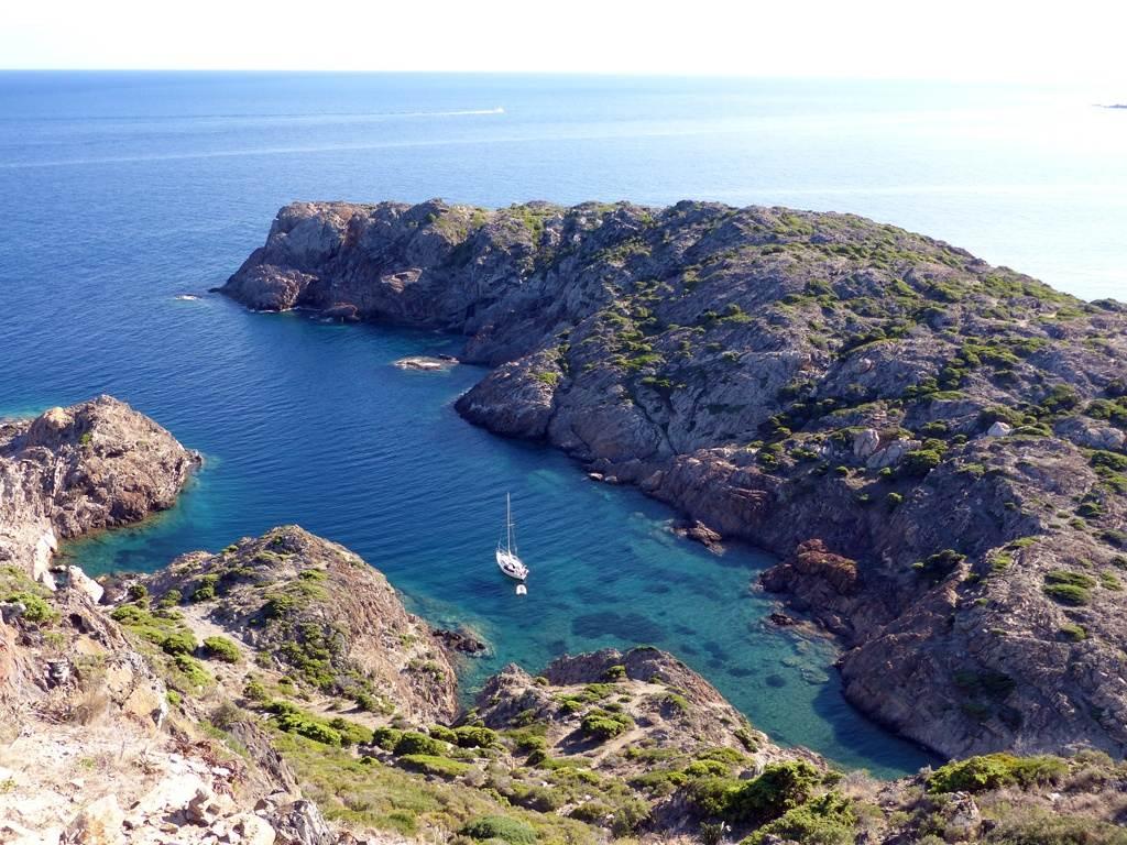 Bucht am Cap de Creus an der Costa Brava