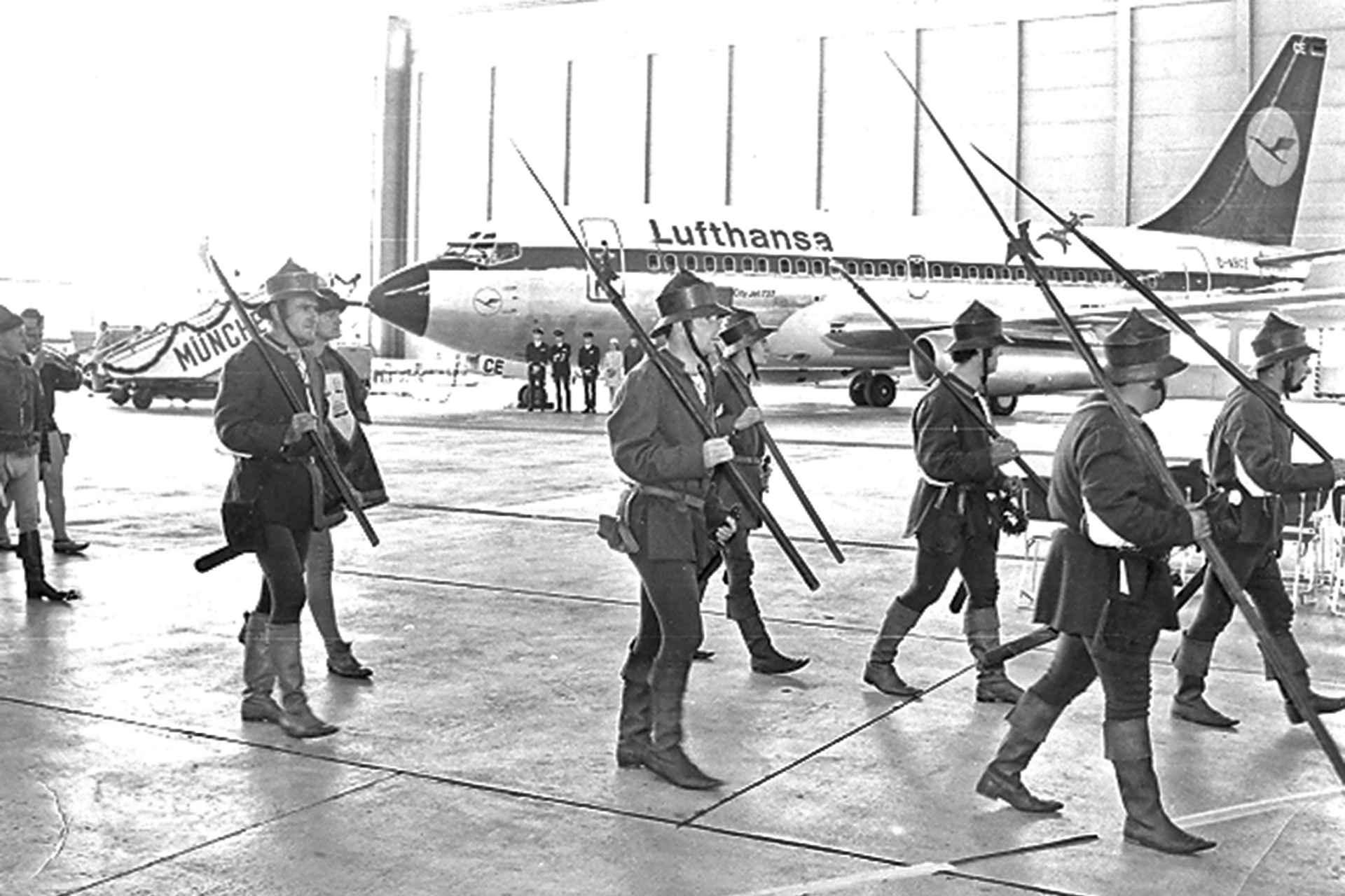 Flugzeugtaufe Landshut 1970