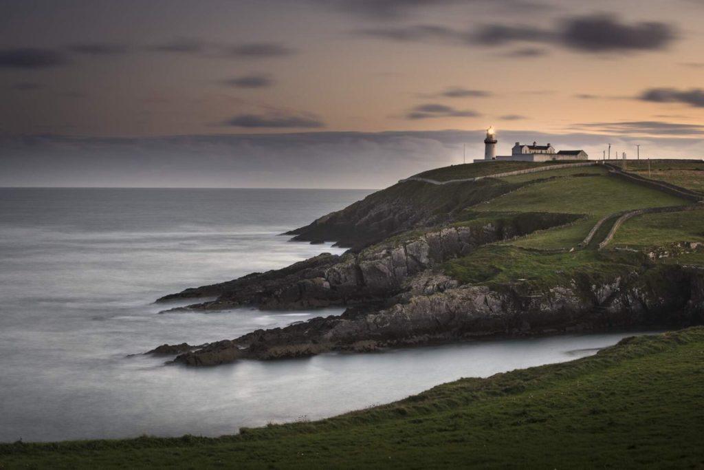 Galley Head Leuchtturm in West Cork