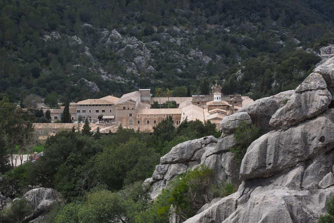 Kloster Lluc im Tramuntana-Gebirge