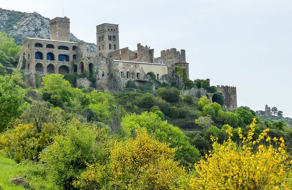 Kloster Sant Pere de Rodes in Katalonien