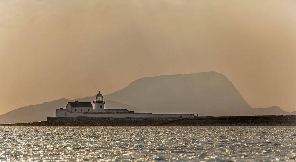 Leuchtturm auf Clare Island