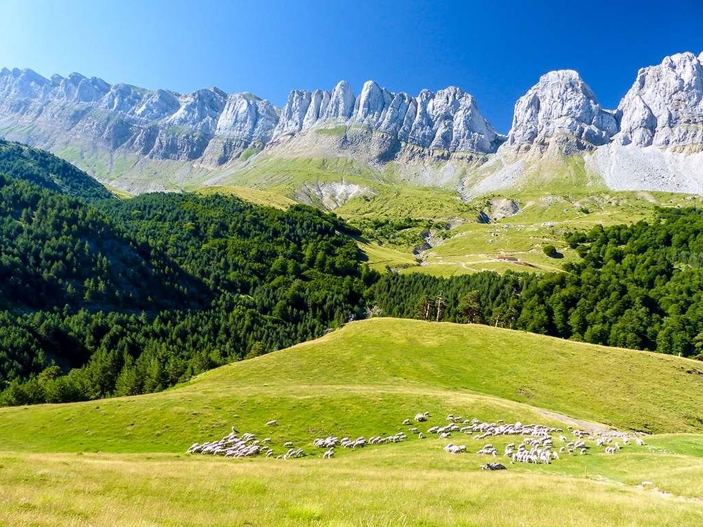 Pyrenäengipfel in Navarra