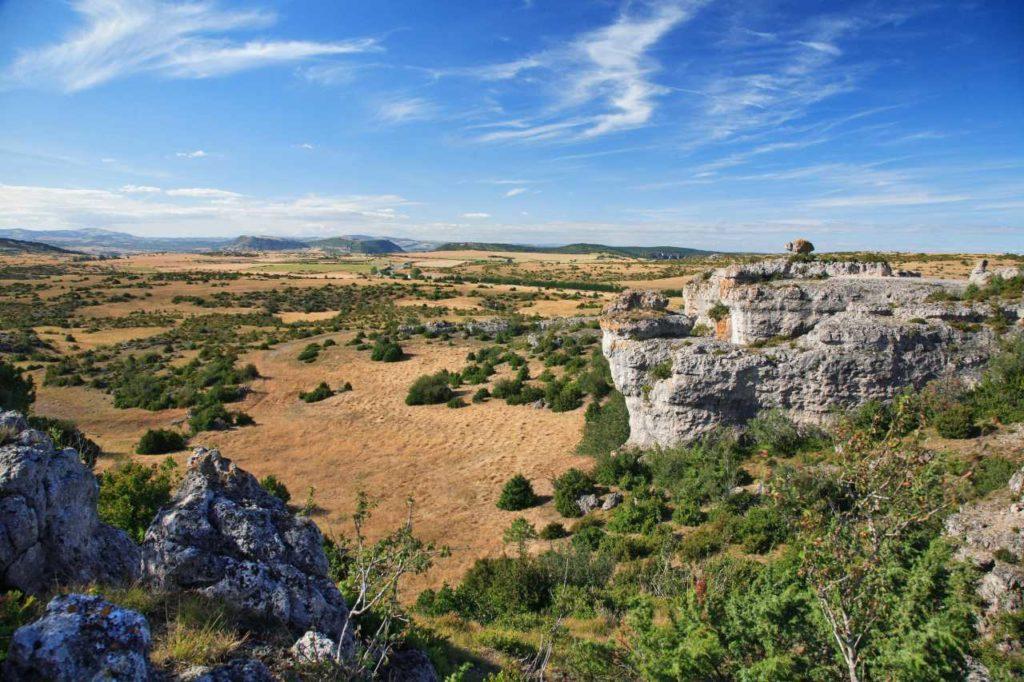 Typische Landschaft im Larzac