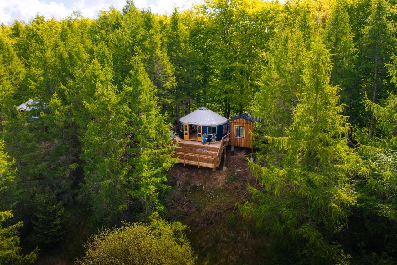 Adventure Camp Glamping Zelt bei Haslev