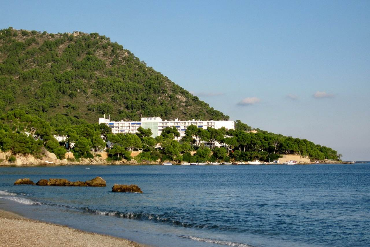 Bucht und Strand Costa de los Pinos Mallorca