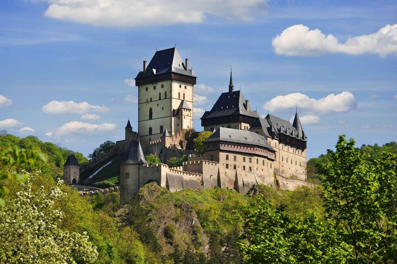 Burg Karlstein in der Nähe von Prag