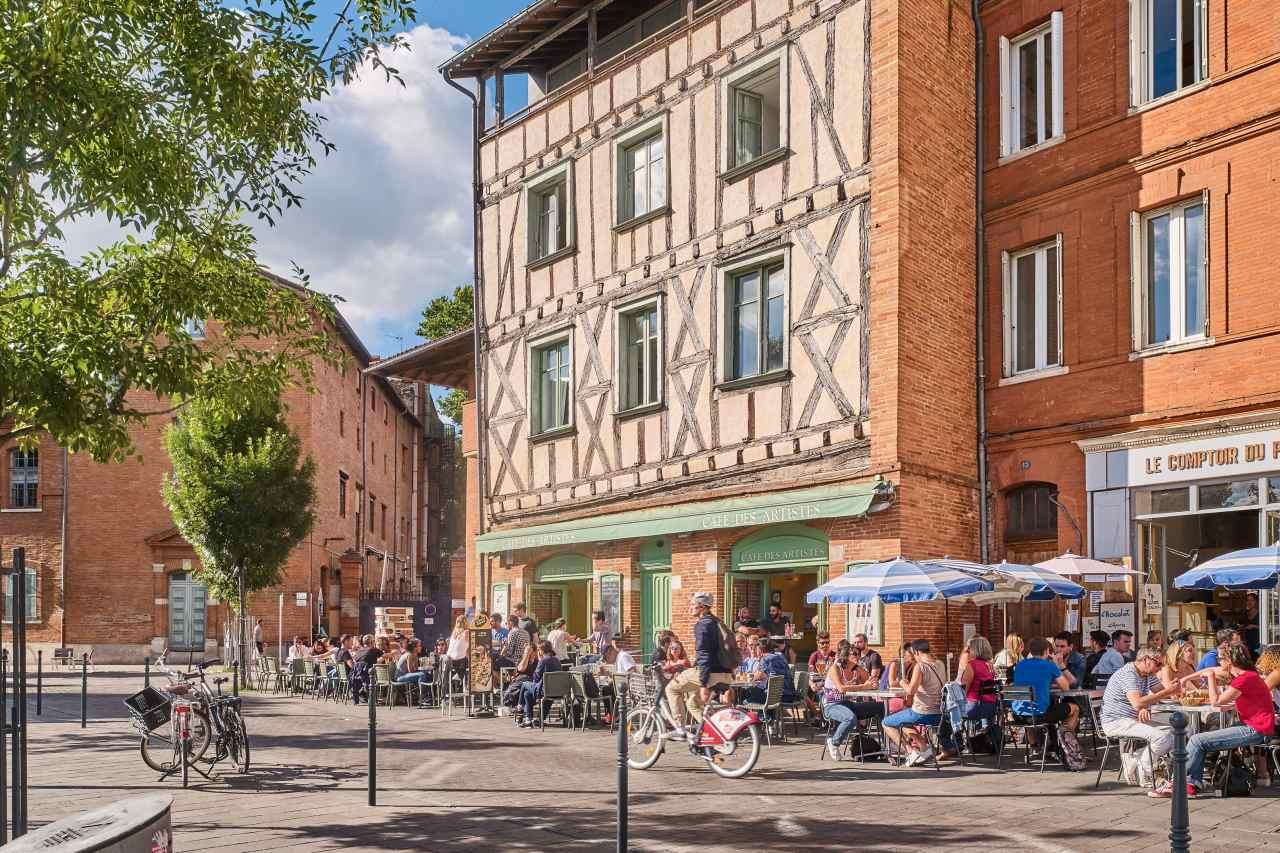 Café des Artistes in Toulouse