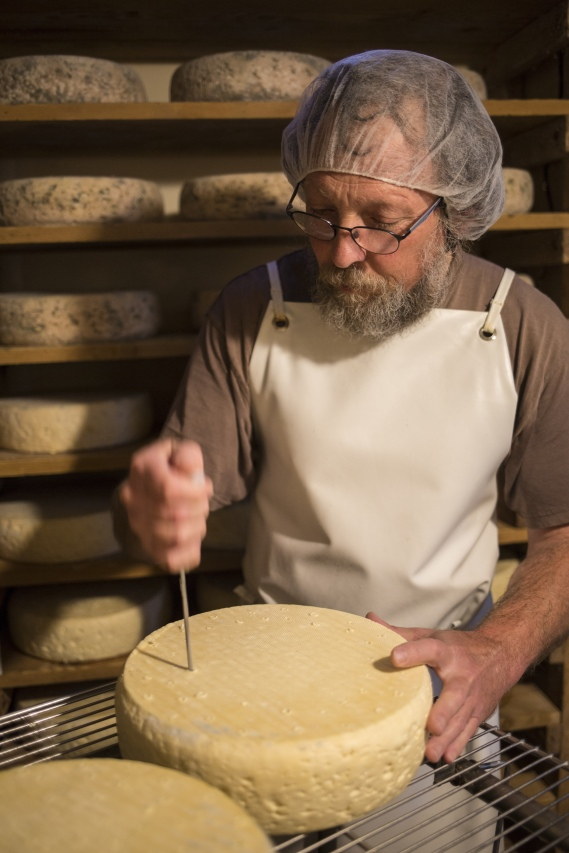 Käsespezialität Bleu du Vercors-Sassenage