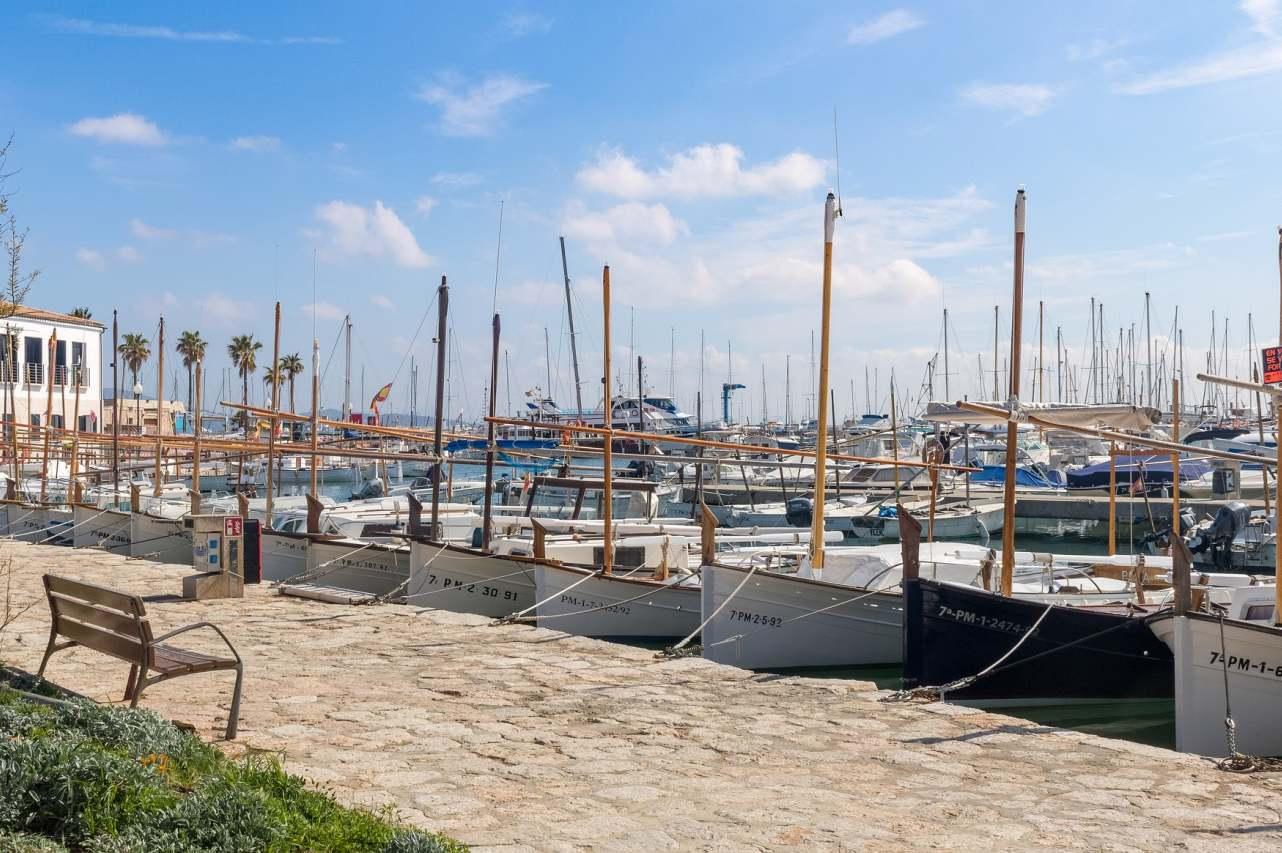 Puerto Pollenca Promenade Hafen