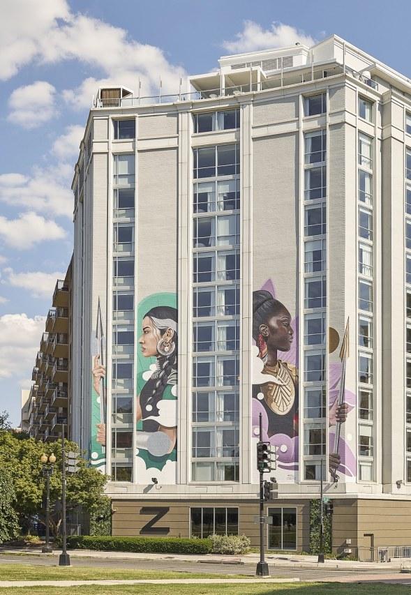 Außenansicht Hotel Zena in Washington, DC