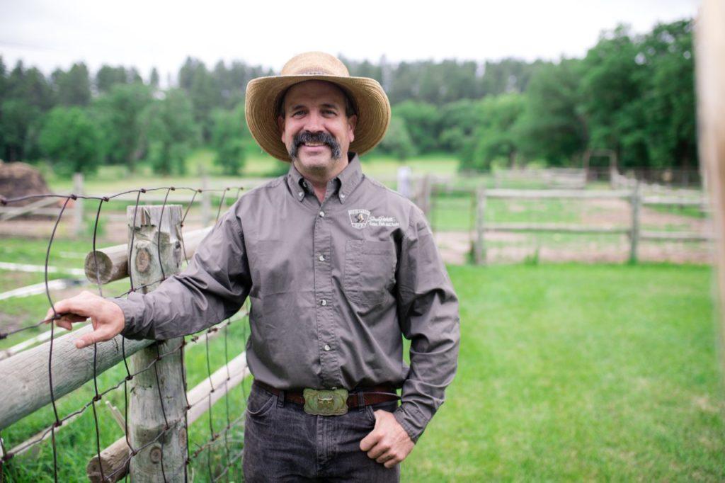 Bison-Herden-Manager Chad Kremer