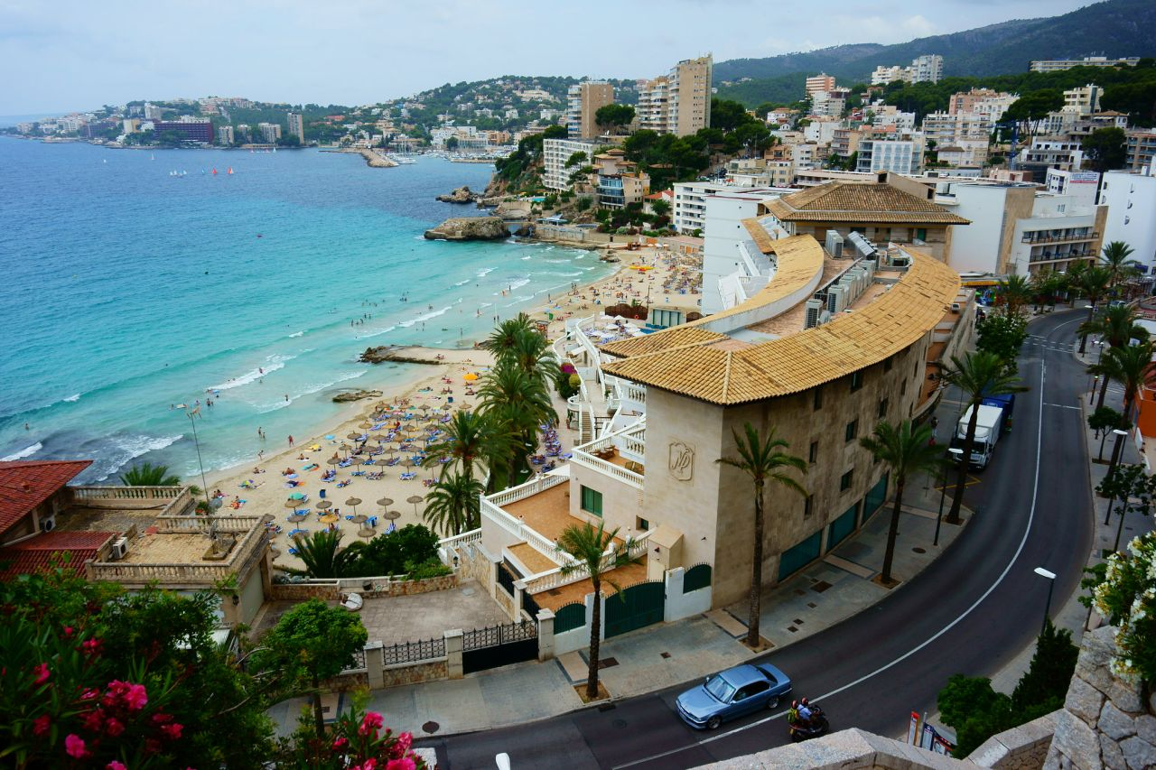 Cala Major Hotels am Strand