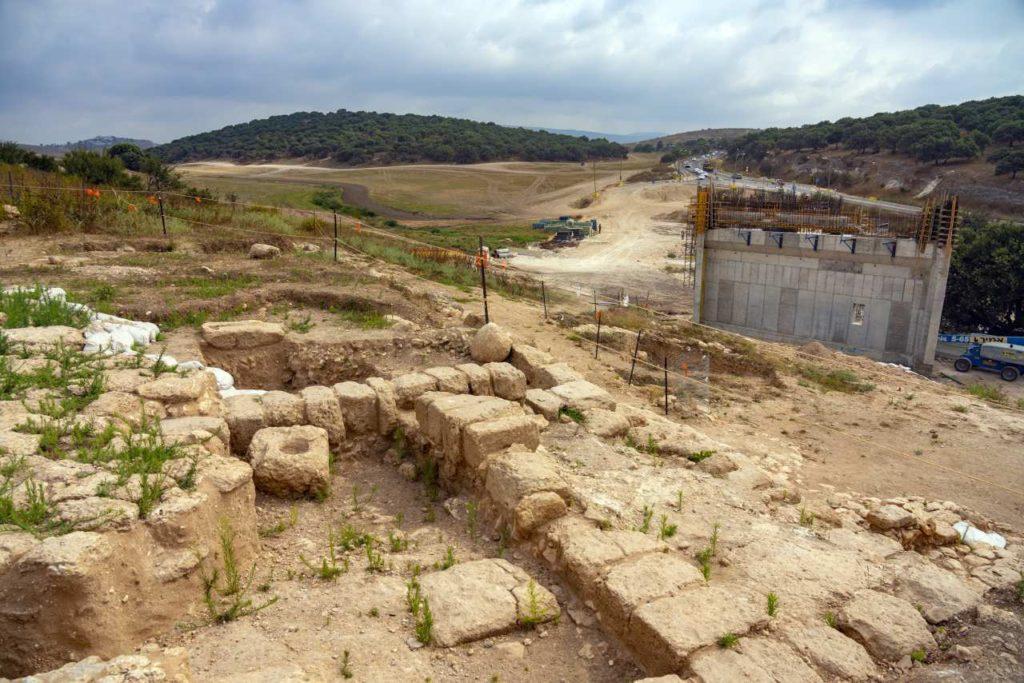 Freigelegtes Bauernhaus bei Sepphoris