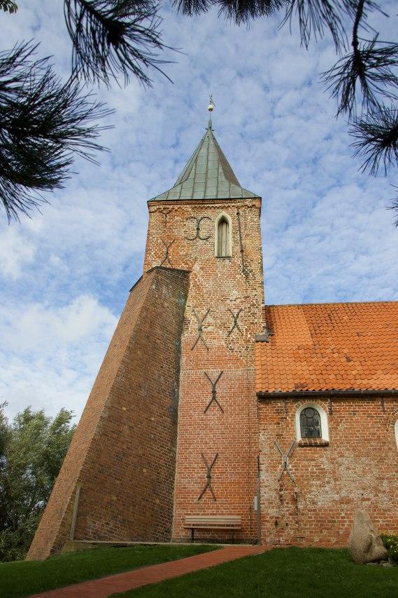 Kirchturm St. Stephanus in Westerhever