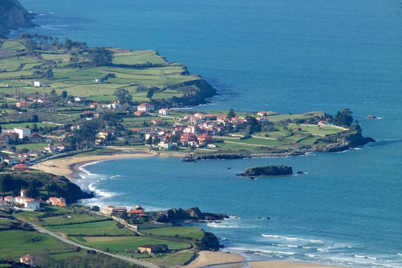 Küste von Colunga in Asturien