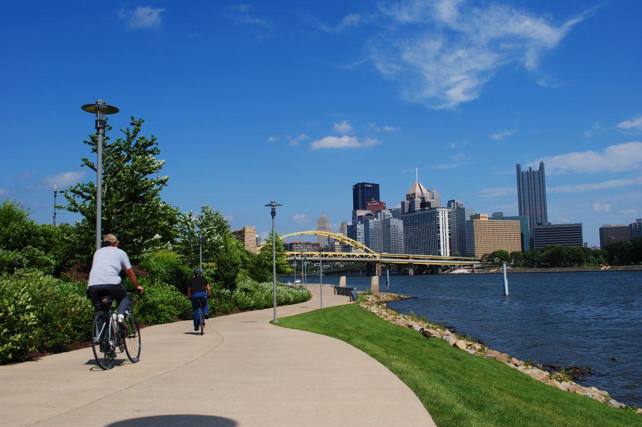 North Shore Biking Pittsburgh