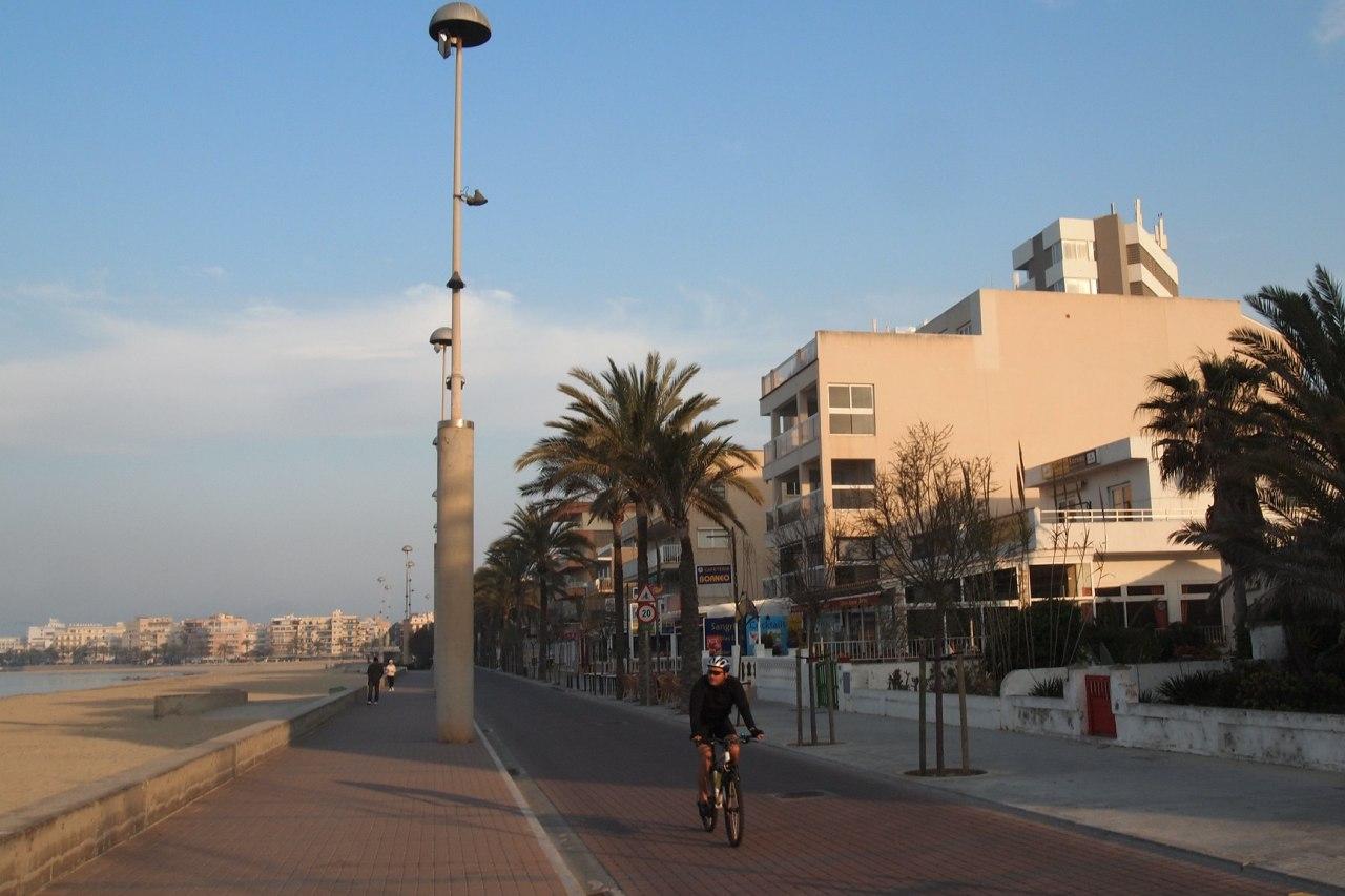 Promenade und Strand von Ca'n Pastilla