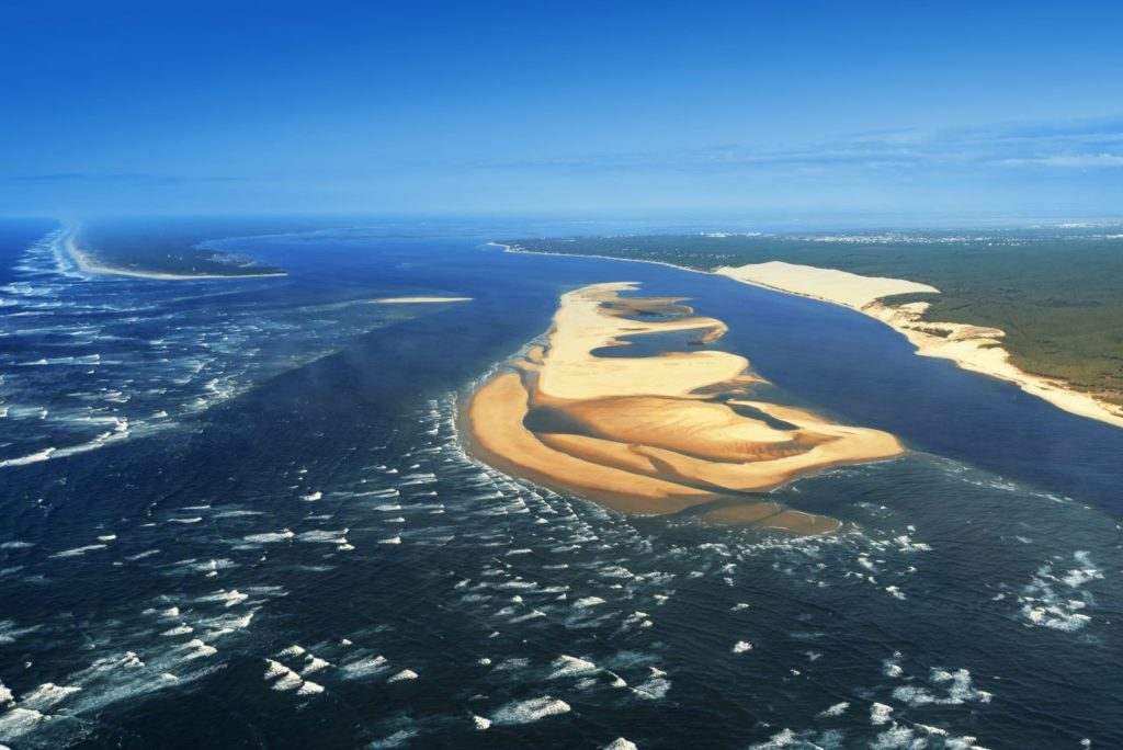 Sandbank im Bassin von Arcachon