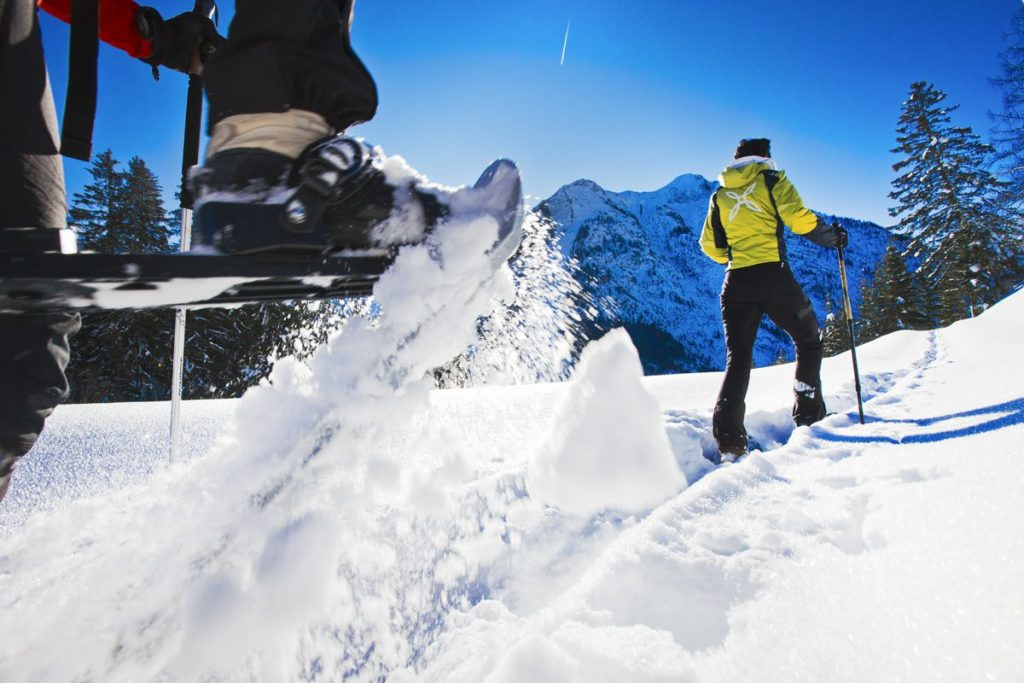 Schneeschuhwandern Tiroler Lechtal